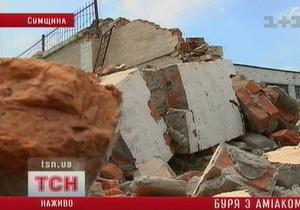 В Сумской области во время урагана произошла утечка аммиака на мясокомбинате