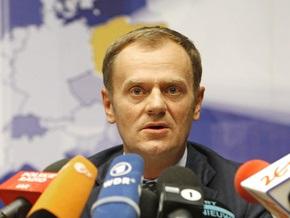 Один из членов семьи премьера Польши заболел свиным гриппом