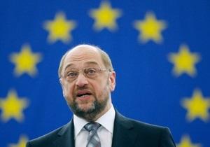 Президент Европарламента: Еще рано говорить о введении санкций против Украины