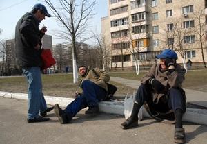В Кременчуге бездомные подожгли пункт обогрева