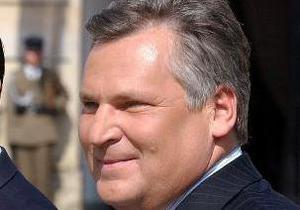 СМИ: Квасьневского могут обвинить в военных преступлениях