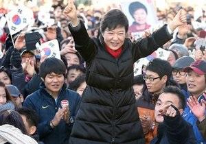 Президентом Южной Кореи впервые может стать женщина