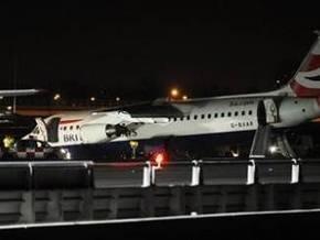 В Лондоне самолет British Airways совершил аварийную посадку
