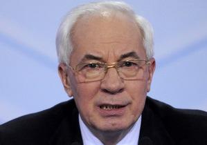 Азаров обратился к украинцам в связи с сильными морозами