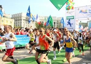 новости Киева - марафон - Марафон в Киеве прошел без нарушений общественного порядка - МВД