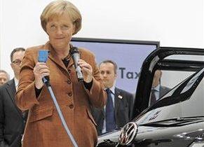 Volkswagen представил концепт электрического такси