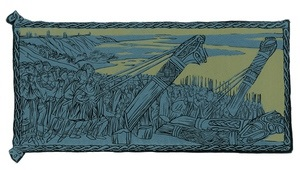 Выставка  Повесть временных лет  в гравюрах Мюда Мечева в Тольяттинском художественном музее