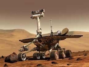 Американский марсоход Spirit застрял в песке
