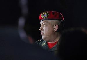 Уго Чавес не сможет принять присягу 10 января
