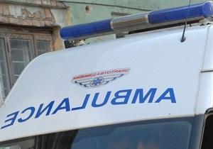 В Днепропетровской области столкнулась маршрутка и легковой автомобиль, два человека погибли, восемь госпитализированы
