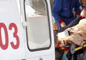В Киеве маршрутка столкнулась с троллейбусом: госпитализированы три человека