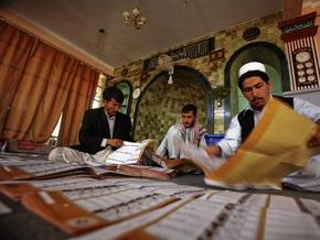 ЦИК предполагает, что на выборах в Афганистане проголосовали 45-50% избирателей