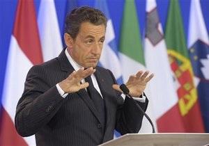 Саркози заявил, что в его словаре нет слова дефолт