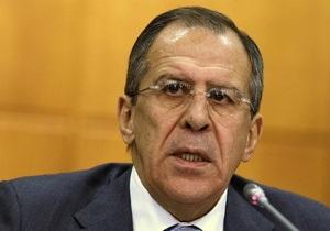 Лавров потребовал от сирийской оппозиции прекратить насилие
