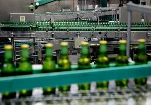 Украинские предприятия уменьшают экспорт пива