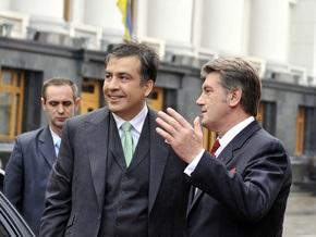 Саакашвили: Самолет Ющенко могли сбить с кораблей ЧФ РФ
