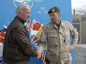 Командующий ISAF просит США  направить подкрепление в Афганистан