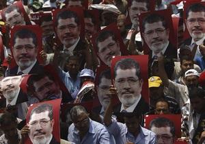 Проповедник Братьев-мусульман заявил, что видел Мурси, восседавшего с пророком