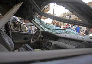 В Ираке взорвались два автомобиля: погибли 20 человек