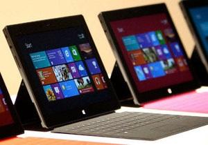 Microsoft начала продажи своего первого планшета Surface