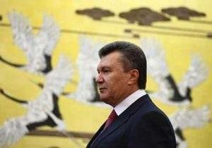 Янукович отбыл из Гонконга в Шанхай