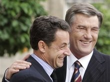 Ющенко поздравил Саркози
