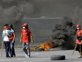 Тайские демонстранты подожгли министерство образования