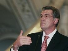 Ющенко пожелал Ху крепкого здоровья