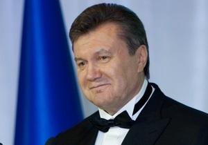 Янукович: Украина готова работать над новой архитектурой европейской безопасности