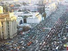 В Москве из-за пролитой воды столкнулись 15 машин