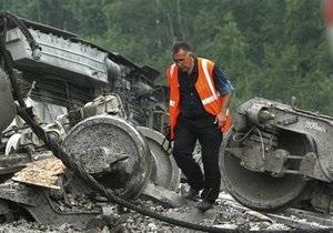 В России произошло сразу две железнодорожных аварии
