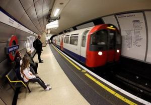 В Лондоне поезд-беглец проехал за 13 минут шесть станций без машиниста