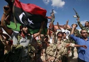 Бойцы ПНС Ливии начали снос резиденции Каддафи