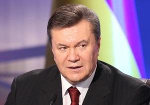 Янукович поручил разобраться по каждому случаю ДТП с участием  мажоров