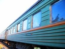 Вчера вечером загорелся поезд Симферополь-Киев