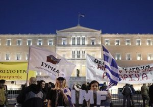 Парламент Греции принял бюджет на 2013 год