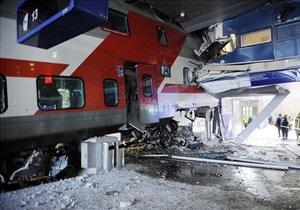 В Финляндии пассажирский поезд протаранил стену привокзального отеля