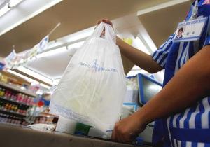 В Украине могут запретить использование полиэтиленовых пакетов