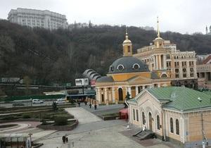 Движение на Почтовой площади в Киеве частично ограничили до мая 2013 года
