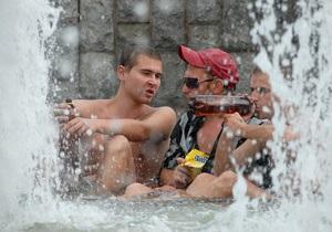 Фотогалерея: Граждане отдыхающие. Как жители Киева переносят летний зной