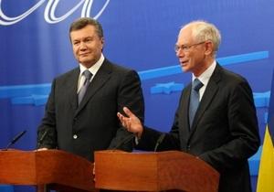 Евросоюз призвал Януковича выполнять свои обещания