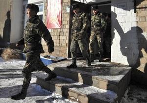 Кыргызстан попросил у России старую милицейскую форму