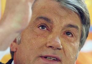 Ющенко: Украина будет всегда благодарна своим спасителям