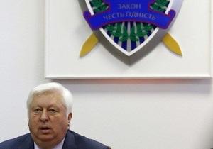 Пшонка: Американский конгресс пытается запугать следственную группу по делу Тимошенко