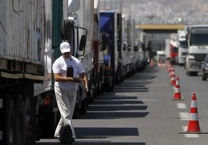 Власти Греции пообещали штрафовать и арестовывать бастующих водителей грузовиков