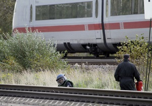 В Германии ищут железнодорожных поджигателей