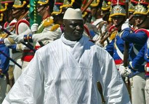 Президент Гамбии избран на третий срок