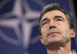 Коммунисты устроили под Радой пикет против приезда генсека НАТО