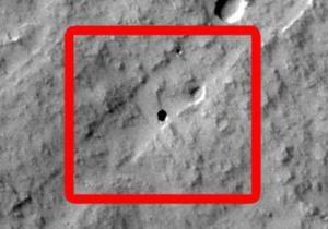 Американские семиклассники нашли  люк  в поверхности Марса