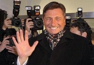На президентских выборах в Словении победил экс-премьер